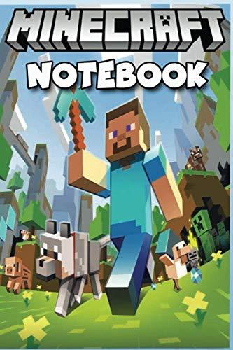 Minecraft Notebook: Minecraft Journal, Notebook , Minecraft  Planner , Bullet Journal. Great Gift For All Minecraft lovers