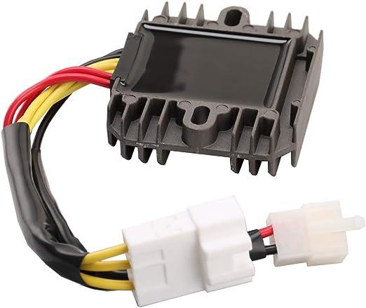 shamofeng Voltage Regulator Rectifier For Yamaha 5BN-81960-00 Yamaha RHINO 660 YXR660 2004-2007