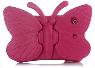 Apple iPad Mini 1/2/ 3/4 Butterfly Design Shockproof EVA Case Cover For Kids - Pink
