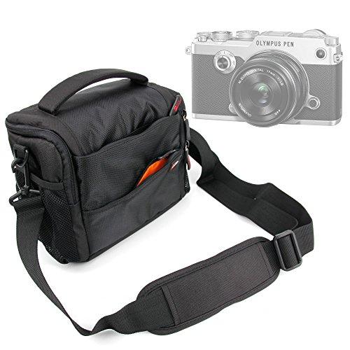 DURAGADGET Bandolera con Compartimentos para Cámara Fujifilm X-T2 / Olympus OM-D E-M1...