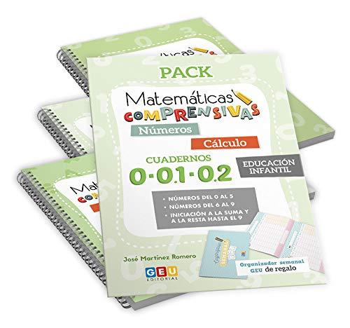 Pack Matemáticas Comprensivas para EDUCACIÓN INFANTIL: Cuadernos Repaso NÚMEROS y CÁLCULO (Niños de 3 a 5 años)