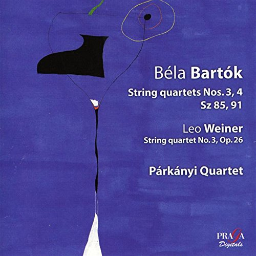 Cuartetos Para Cuerda Nº 3 Y 4 Panaki