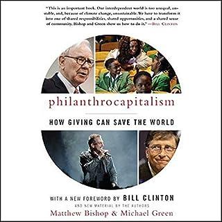 Philanthrocapitalism audiobook cover art