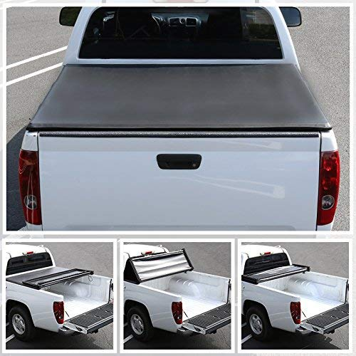 R&L Racing for for Nissan Titan 5.7ft Short Bed Tri-Fold Tonneau Cover