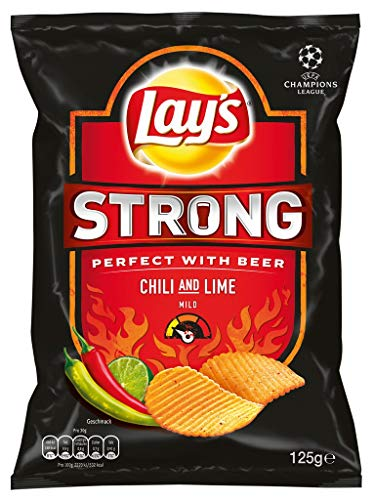 Lay\'s - Strong Chili And Lime Chips - 125g