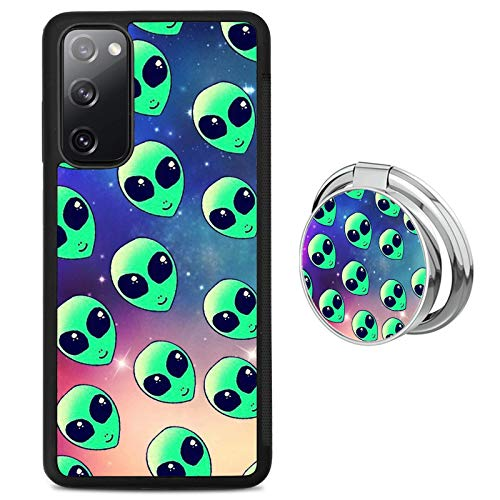 Galaxy Alien Samsung Galaxy S20 FE 5G Case with Grip Ring Holder Multi-Function Cover Slim Soft and Hard Tire Shockproof Protective Phone Case Slim Hybrid Shockproof Case for Samsung Galaxy S20 FE 5G