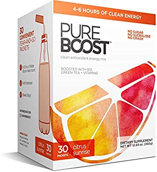 Pureboost Clean Energy Drink Mix + Immune System Support