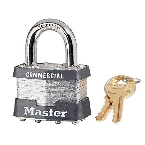 2 Master Lock Keyed Alike Padlocks w// Thermoplastic Coating Model # 311KA-2