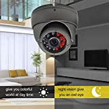 ierkag Home Outdoor Security Camera HD 1200 TVL Security Dome Camera Surveillance Cameras Security Camera