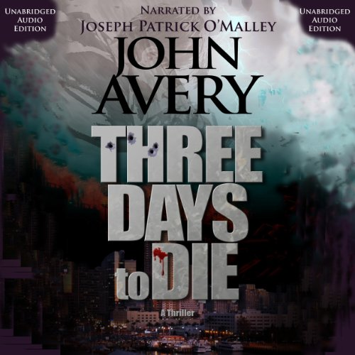 Three Days to Die audiobook cover art