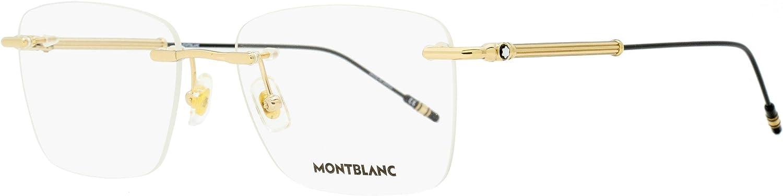 Eyeglasses Montblanc MB 0038 O- 002 GOLD /