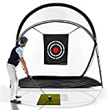 Galileo Golf Practice Net Training Hitting Driving Golf Net for Backyard Indoor Use with Target&Carry Bag10.5'(L) x5.5'(W) x8.6'(H)