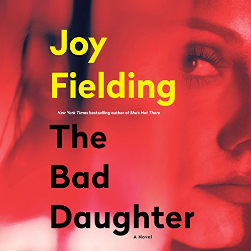 The Bad Daughter audiobook cover art