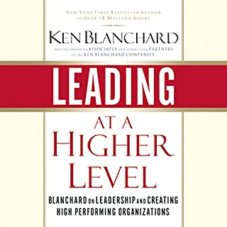 Leading at a Higher Level cover art