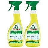 Rana 2 x de cítrico baño & ducha limpiador 500 ml Botella de spray