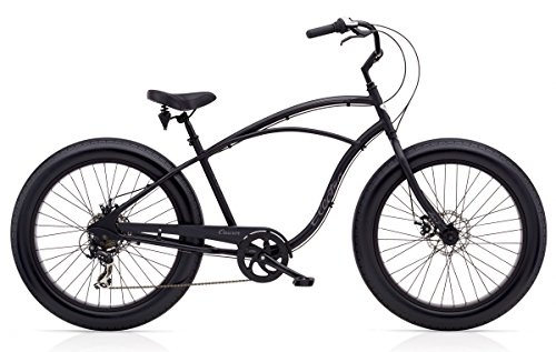 Electra Cruiser LUX 7D Fat Tire Men mattschwarz