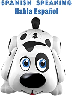Spanish Speaking Dog Harry | Electronic Pet Interactive Puppy | Responds to Touch, Walking, Chasing and Fun Activities