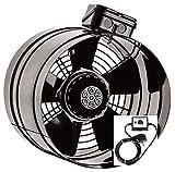 200 mm de la Industria Tubo Ventilador con 5 A Regulador de velocidad Canal Ventilador Canal Ventilador Tubo Tubo de Ventilador Ventiladores Extractor de aire axial en línea (Para ducto)