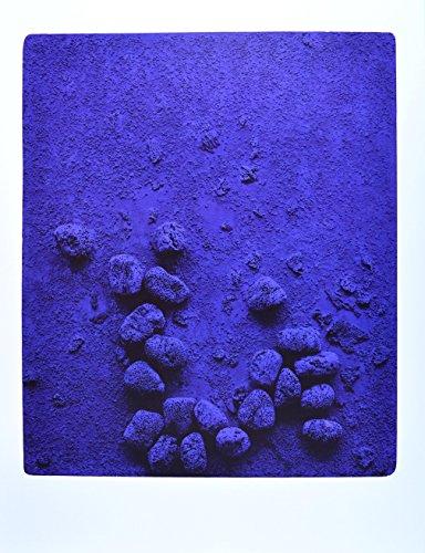Germanposters Yves Klein Blaues Schwammrelief 1958 Poster Kunstdruck Bild 80x60cm