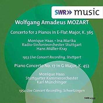Mozart: Concerto for 2 Pianos, K. 365 & Piano Concerto No. 17, K. 453