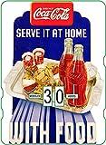Calendario perpetuo Coca-Cola: Serve it at Home with Food