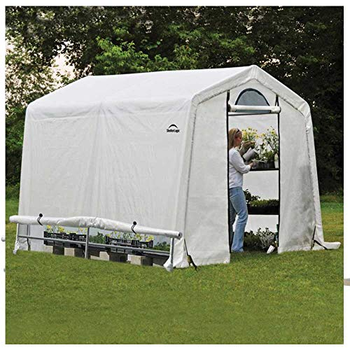 Rowlinson Shelterlogic 8x8 Peak Style Greenhouse