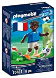 PLAYMOBIL- Sports & Action Jugador de Fútbol, Francia B, Multicolor (70481)