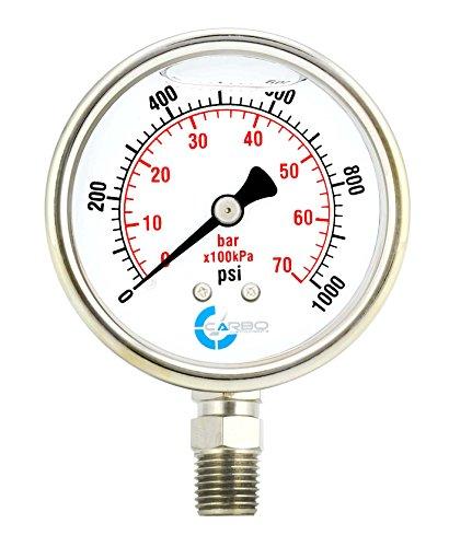 1000 psi gauge - 3