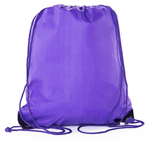 Mato & Hash Kordelzugbeutel, Kordelzug, 15 Farben, 100 Stück erhältlich, Unisex-Erwachsene, violett, 30 Bags