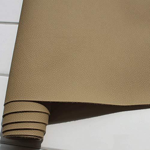 SSYBDUAN Möbelstoff Premium Bezugsstoff Zum Kunstleder Dicke 1mm Polsterstoff Als Robuster Premium Bezugstoff/Möbelstoff Reparaturset Sofa Eckbank Bürosessel Breite 138cm 1 Stück=50cm (Länge)