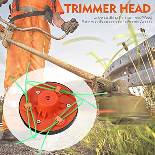 Best Prices! Universal String Trimmer Head Line Gas Trimmer Weed Eater Head Replacement for Electric...