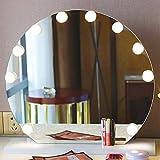 Miroir de Maquillage à LED, 10PCS Ampoule à Intensité Variable, Lumière...