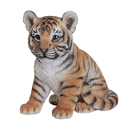 Vivid Arts Sitting Tiger Cub Resin Ornament