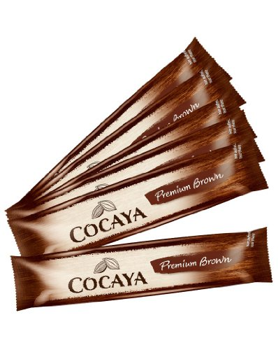 COCAYA Premium Brown Portionssticks Trinkschokolade 8 x 35 g
