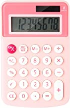 $27 » WYH Profession Calculator Mini Portable 8-Digit Display Office Calculator Student Office Stationery Ergonomics (Color : Pink)
