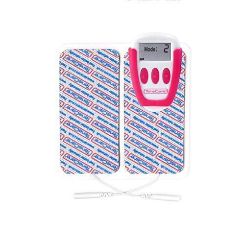 TensCare Ova+ - Electroestimulador para Alivio del dolor Menstrual. Diseñado Especialmente para Llevarlo A cualquier Parte. 4 modos 2 Pads 2 Canales