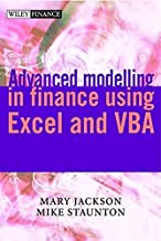 Advanced modelling in finance using Excel and VBA(text only) by M.Jackson by M.Staunton