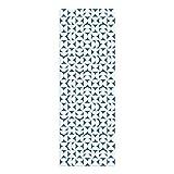 Alfombra Vinílica, Geometría, Azul, 200 x 70 cm, Varios Tamaños y Colores, PVC Estampado, ALV-080-AZ