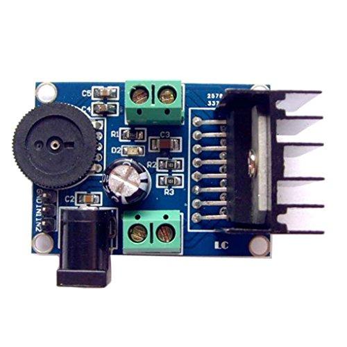 Lorsoul TDA7297 3-18V Dual Channel Voice-Sounds Verstärker-Brett-Modul 15W + 15W Audio-Leistungsverstärkermodul für 10-50W Lautsprecher