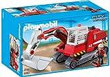 Playmobil Construcción - Excavadora de construcción, Juguete Educativo, 40 x 12,5 x 35 cm, (5282)