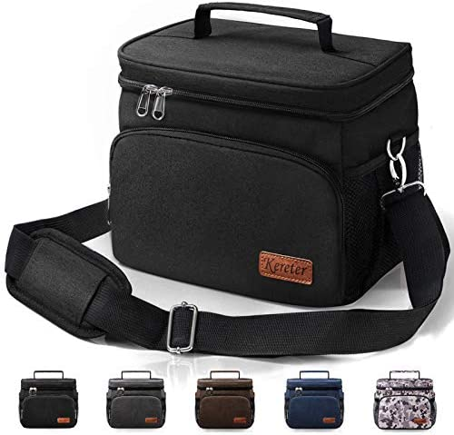 Large Cooler Lunch Bag 24 Can 15L Insulated Lunch Box for Office Work Picnic Beach Leakproof product image