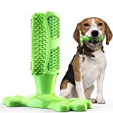 <span class='highlight'><span class='highlight'>Aoweika</span></span> dog toothbrush chew toy, rubber teeth cleaning chew toys long lasting for aggressive chewers large breed, dog dental care toy - Large