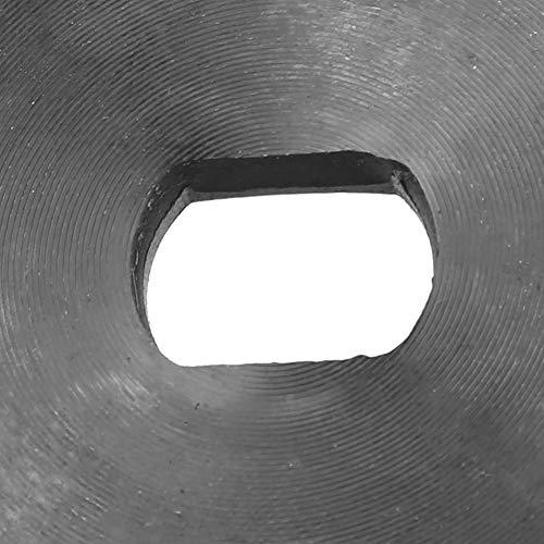 Rosvola Rueda de Cadena de Motor, Rueda de Cadena 420 Modelo 16T, Metal de tamaño pequeño y reemplazo liviano para Motor de desaceleración de Corriente Continua de imán Permanente
