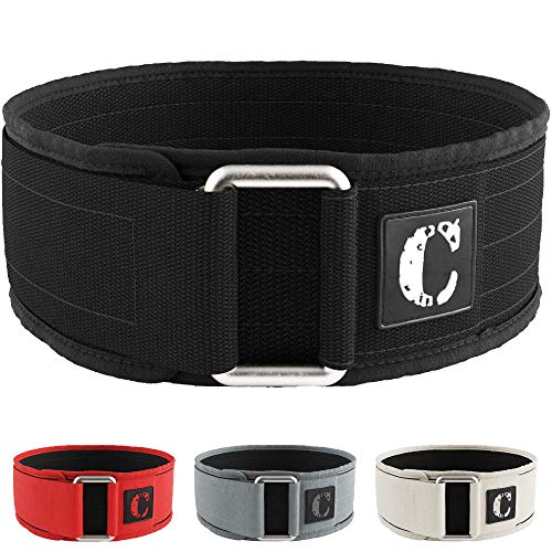 Contraband black label 4010 4 inch nylon weight lifting belt image
