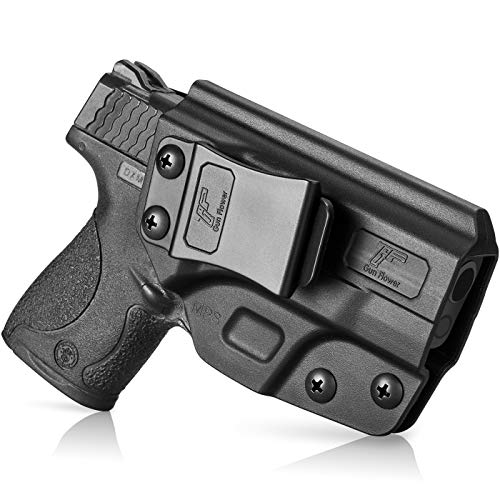 IWB Holster Compatible with M&P Shield .40 3.1'' Barrel| Smith and Wesson M&P Shield 9mm, Inside Waistband Carry Holster Compatible with Shield 9mm, 9mm Gun Holster for Men/Women Adj. Cant & Retention