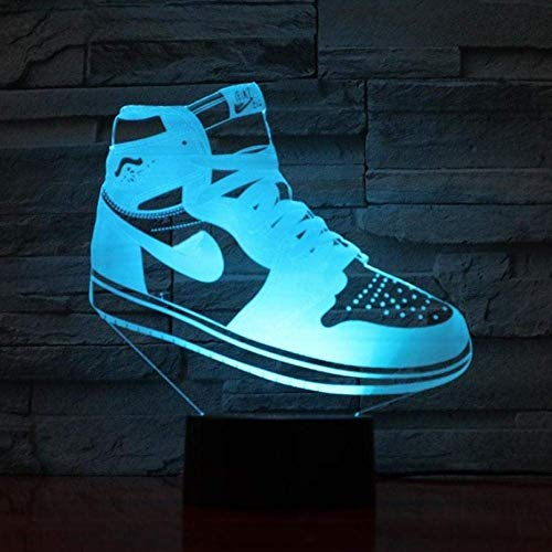 Luces De Halloween Luz De Noche Led Michael Jordan Decoración Sensor Táctil Usb Niños Niños Regalo Deportes Dormitorio Lámpara De Mesa Baloncesto Slam Dunk
