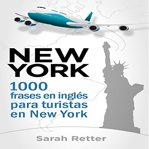 New York: 1000 Frases en Ingles para Turistas en New York audiobook cover art