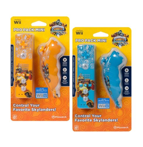 Skylanders Wii Mini Controller (Available in Orange or Blue)