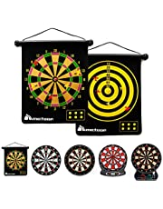 Magnetisch Dartbord voor Kinderen en Volwassenen - Dartbordset Dubbelzijdig Dartbord en 6 veilige darts - Magnetisch Dartbordspel
