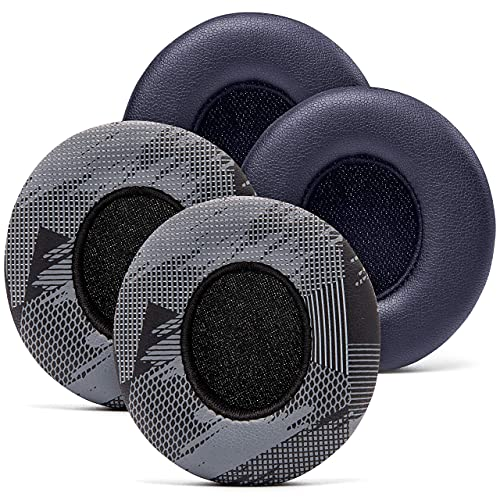 Design Pack 2 - WC Wicked Cushions Upgraded Replacement Ear Pads for Beats Solo Headphones - Earpads for Beats Solo 3 & Solo 2 Wireless ON-Ear Headphones - Cloud Like Comfort - Extra Durable